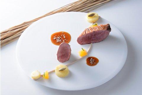 サブリナ:鴨胸肉のロースト