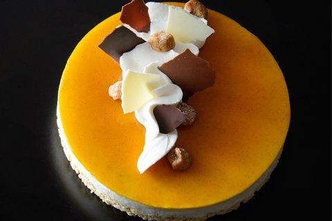 サブリナ:カボチャのチーズケーキ