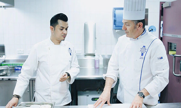Celebrity Alumni Dato' Fazley Yaakob conducted a cooking demonstration at Le Cordon Bleu Sydney