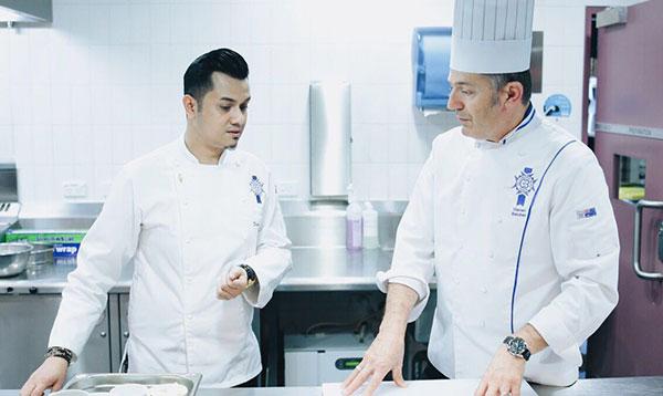 Celebrity Alumni Dato' Fazley Yaakob conducted a cooking demonstration at Le Cordon Bleu Sydney