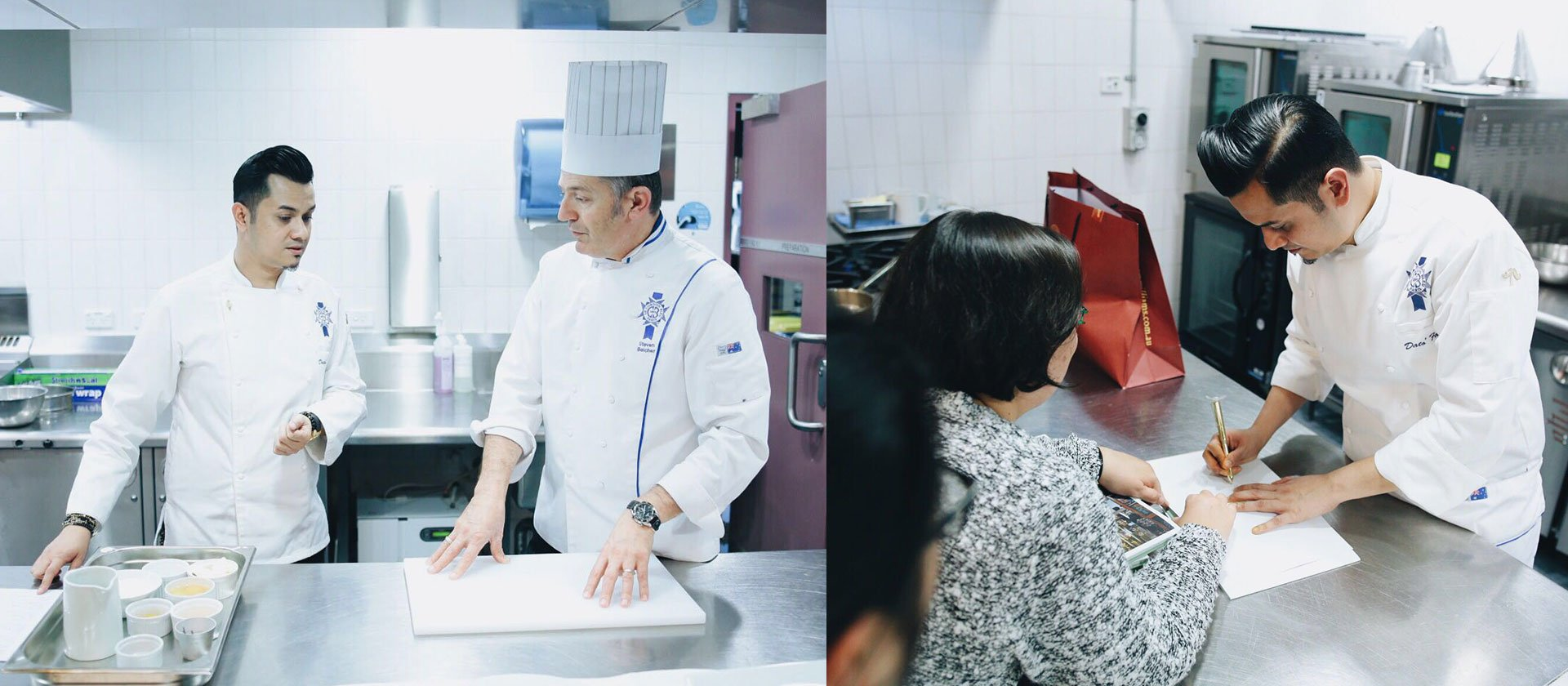 Le Cordon Bleu Celebrity Alumni Dato' Fazley Yaakob conducts a grand performance in cooking & singing