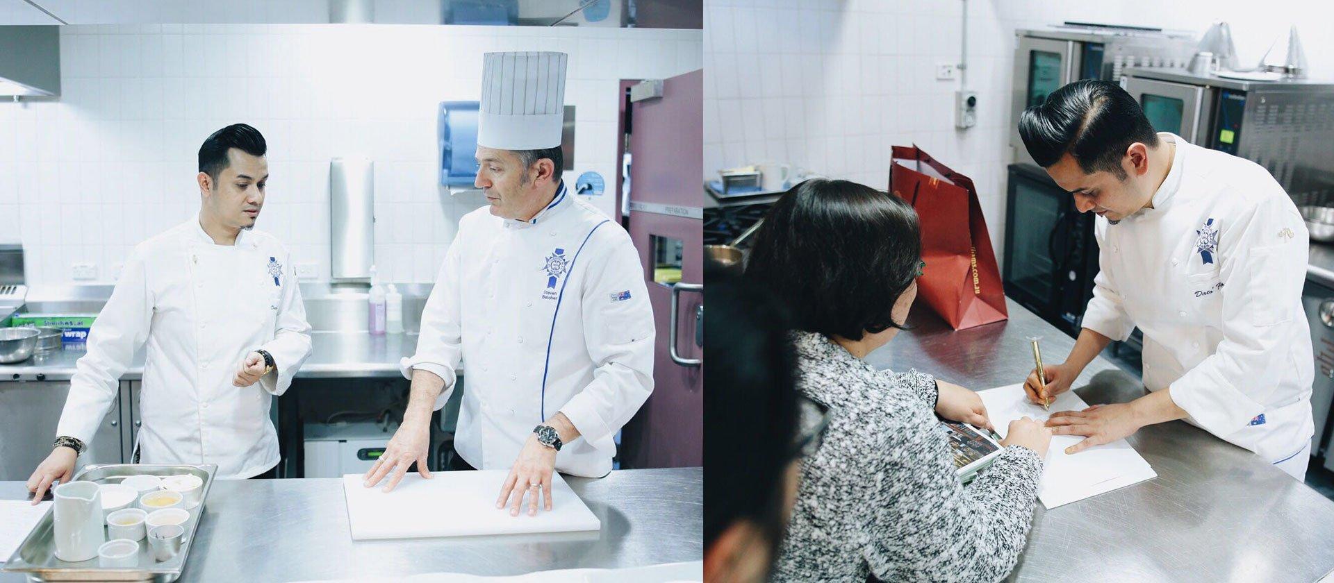 Le Cordon Bleu Celebrity Alumni Dato' Fazley Yaakob conducts a grand performance in cooking & singing