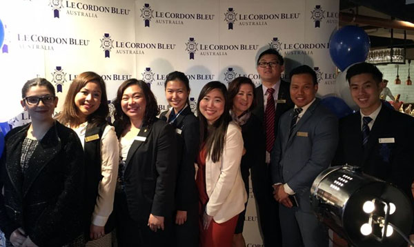 Le Cordon Bleu Sydney students worked at Youtube event Broadcast