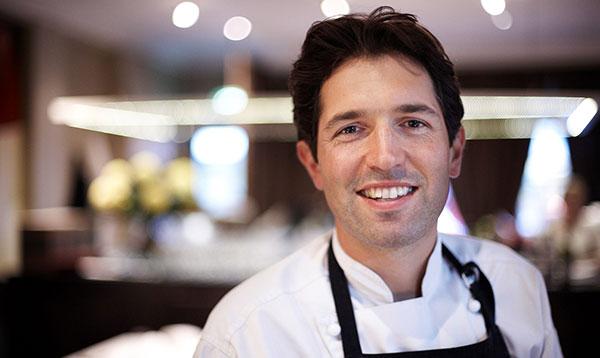 Executive chef, Ben Shewry, from Attica taken Le Cordon Bleu students for a Masterclass.