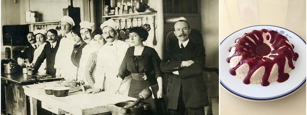 パリのサロン(茶話会)とシェフ講師によるフランス菓子の実演