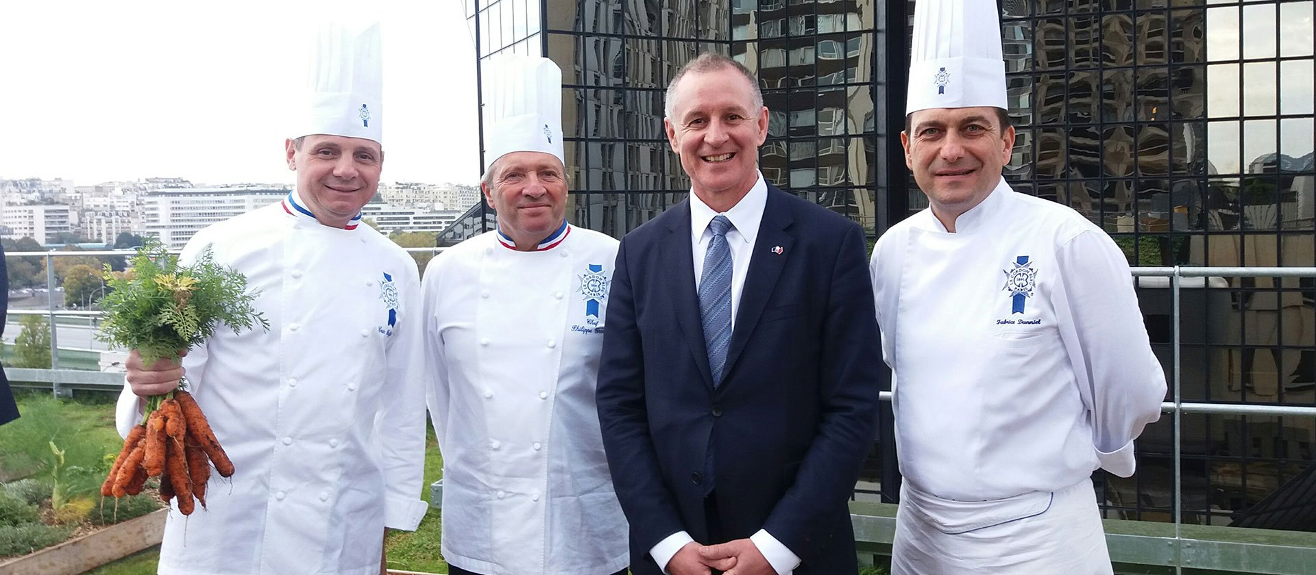 South Australia's Premier visits Le Cordon Bleu Paris