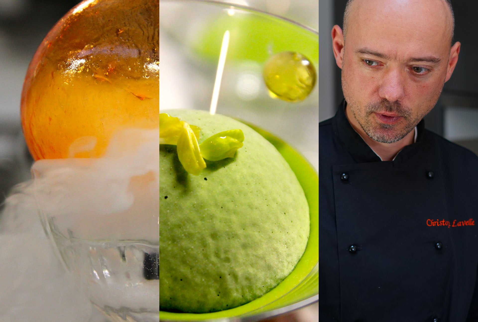 Christophe Lavelle molecular cuisine