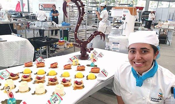 Le Cordon Bleu Pâtisserie Graduate competes at WorldSkills