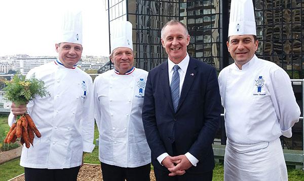 South Australia's Premier visits Le Cordon Bleu Paris