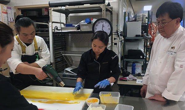 Le Cordon Bleu Australia students work alongside some top chefs