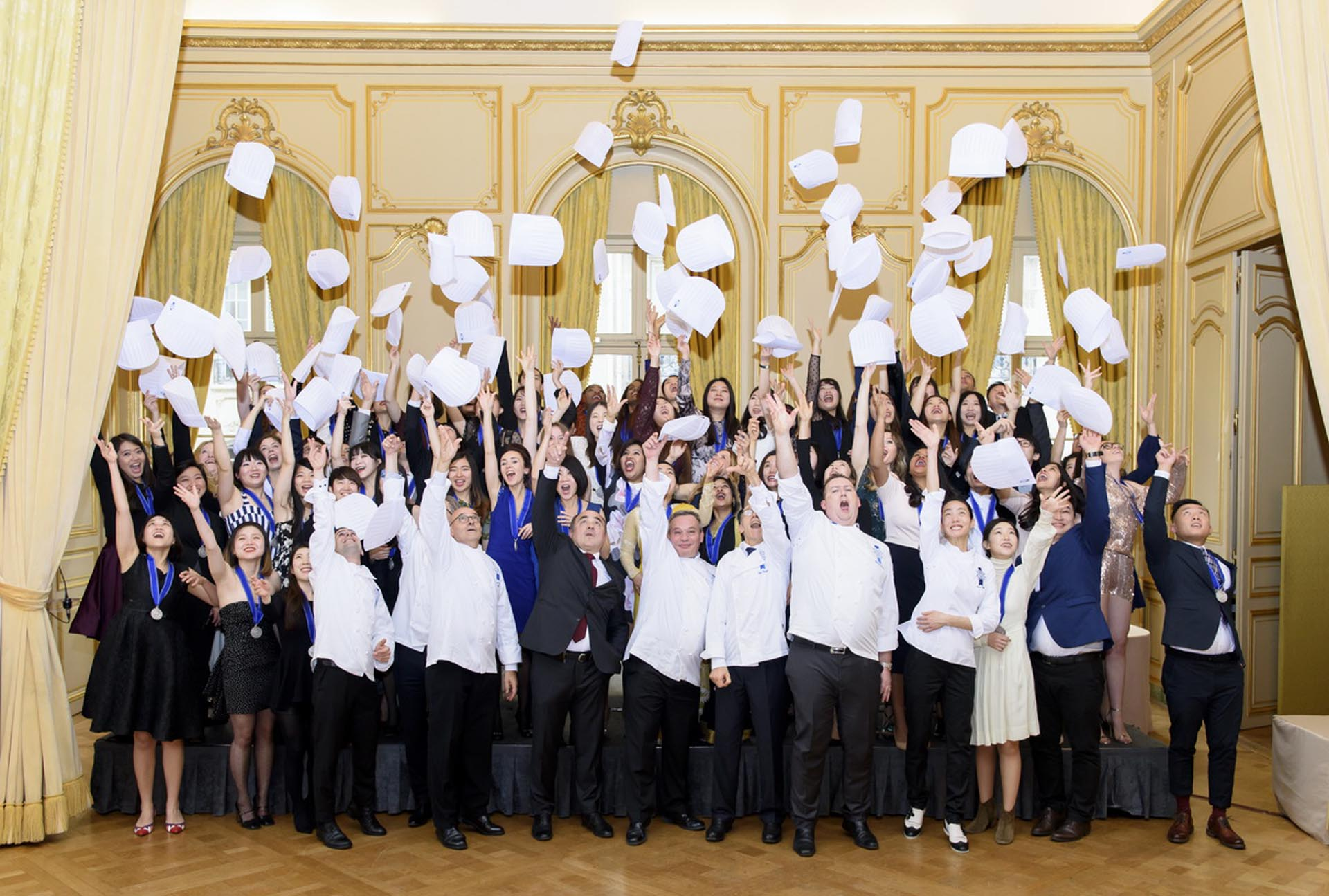 culinary arts graduation ceremony Le Cordon Bleu Paris