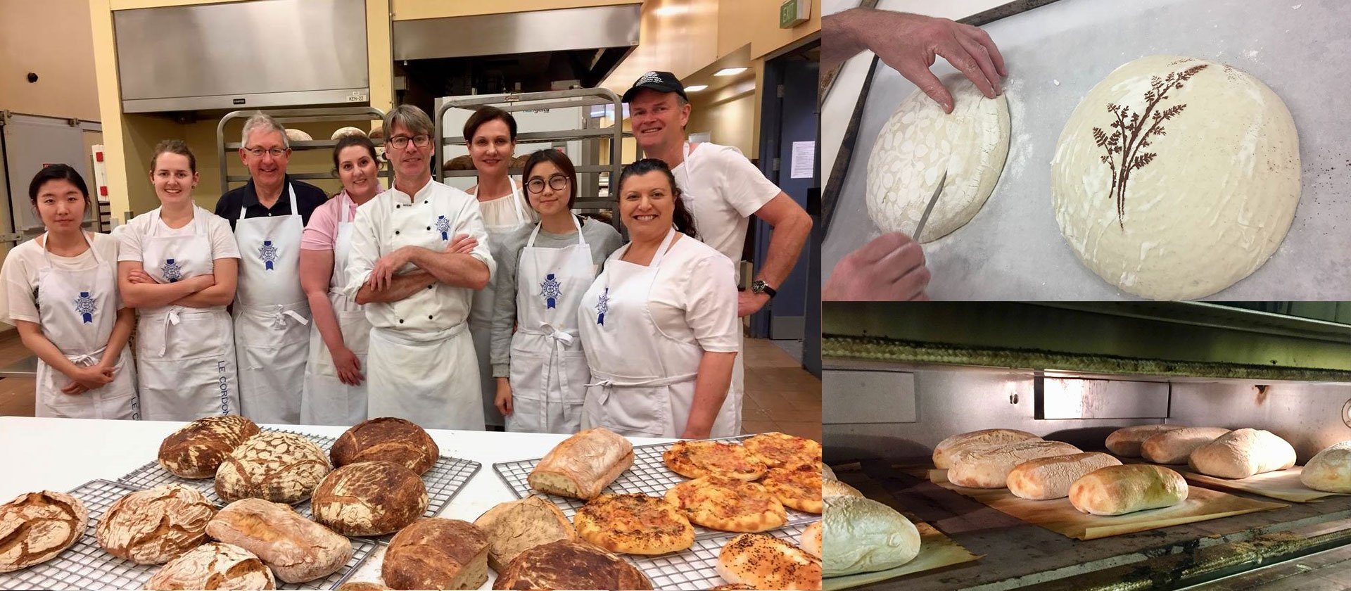 Le Cordon Bleu Adelaide short course - Artisan Traditional Bread Baking Workshop