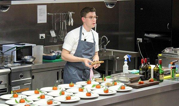 Le Cordon Bleu Melbourne student's Masterclass in Cuisine