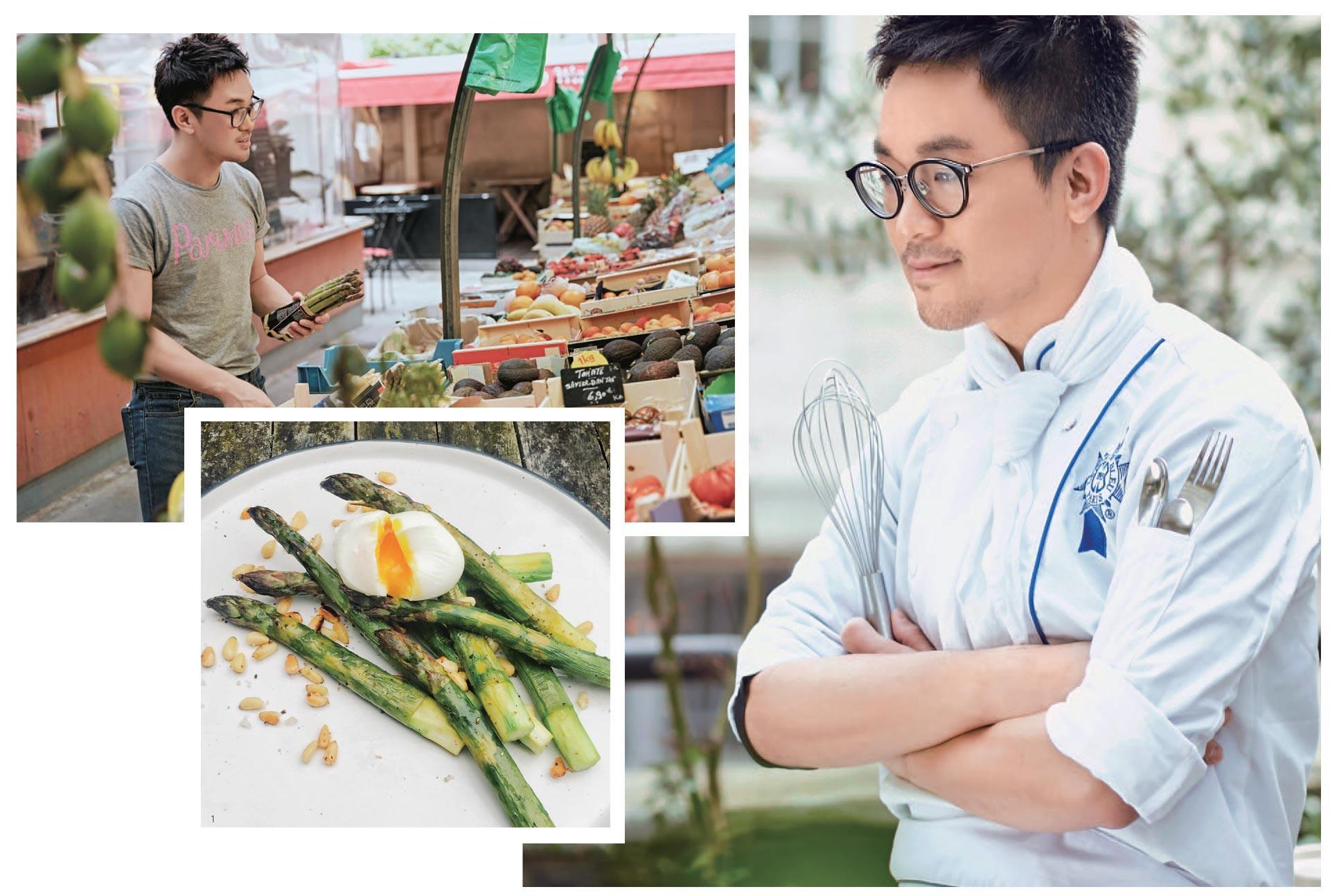 Daniel Ye graduate cuisine diploma