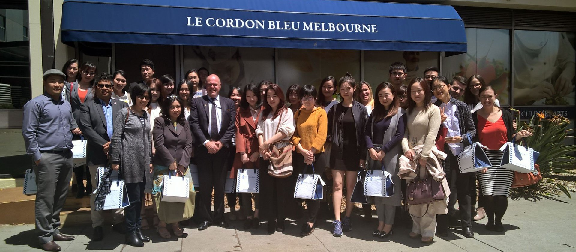 Le Cordon Bleu Melbourne Agents' Christmas Function