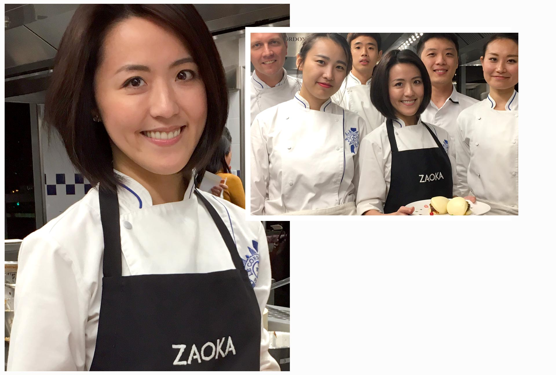 Christina Huang Grand Diplôme cuisine pâtisserie