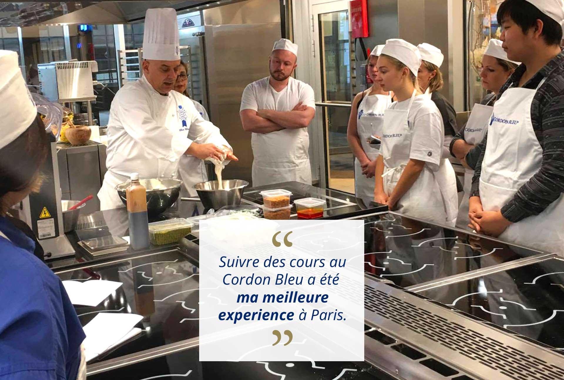 Avis ateliers cours de p tisserie le cordon bleu paris - Cours de cuisine cordon bleu ...