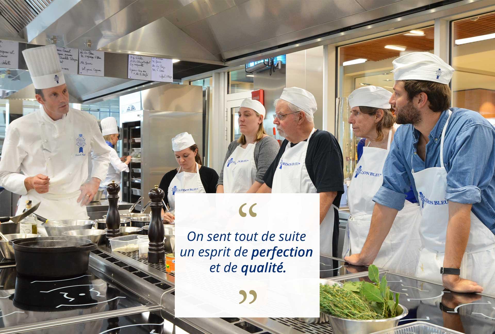 Avis ateliers cours de cuisine paris par audren de - Cours de cuisine cordon bleu ...