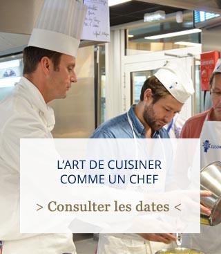 Avis : ateliers / cours de cuisine à Paris par Audren De Valbray