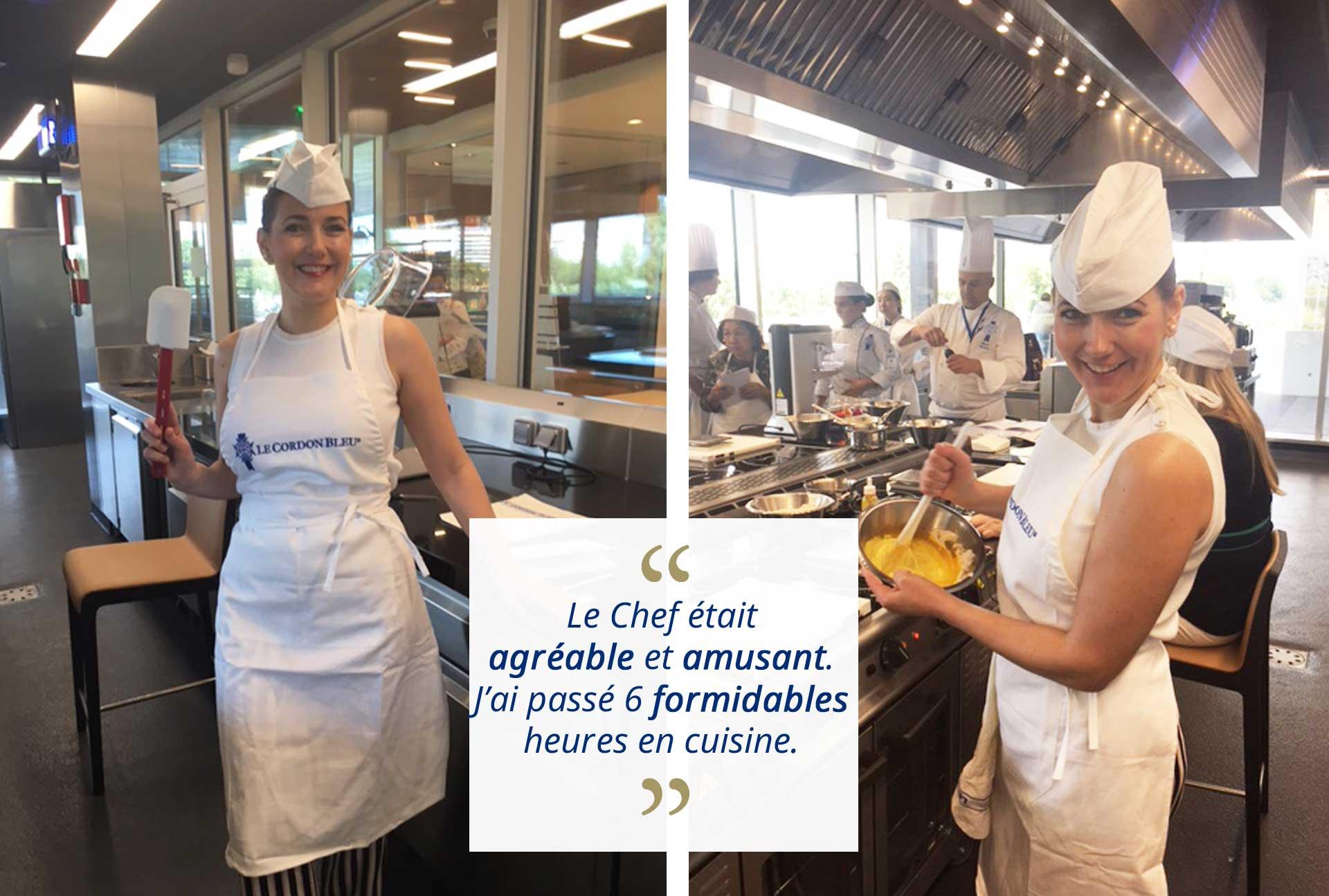 Atelier cuisine pâtisserie boulangerie Paris