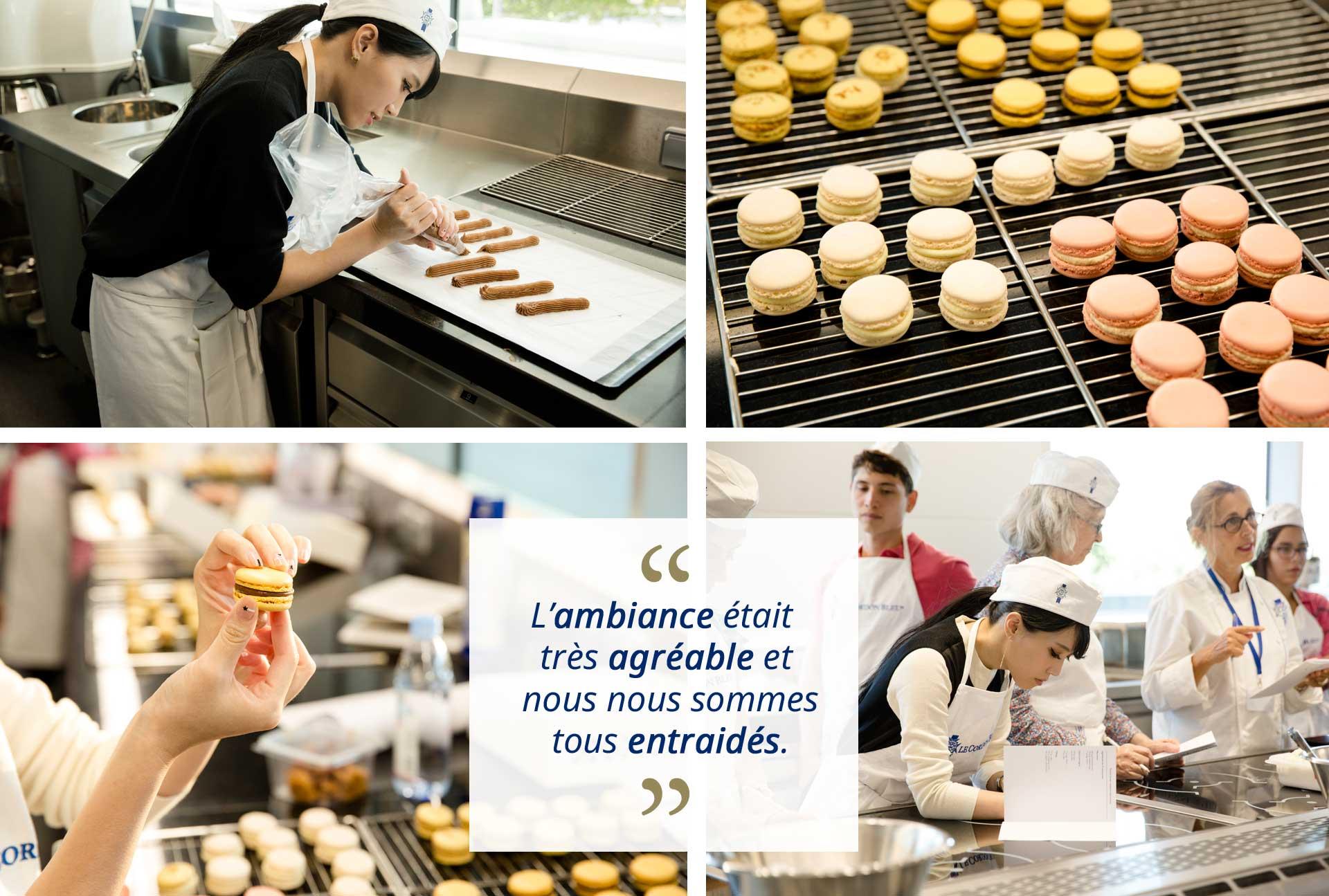 Atelier pâtisserie macarons éclairs Paris par par MillyQ