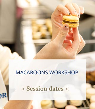 macaroon workshop Paris