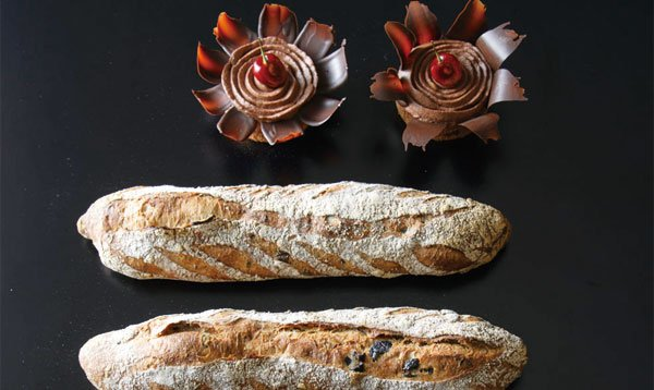 バレンタインならではのパンをサブリナで