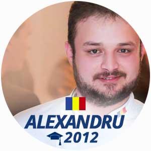 Alexandru Scotnotis cuisine diploma 2012