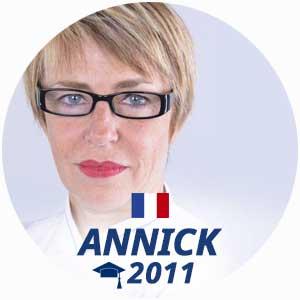 Annick Muller cuisine diploma 2011