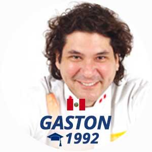 Gaston Acurio cuisine diploma 1992