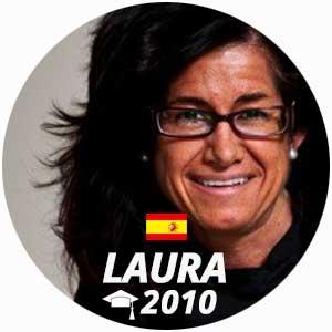Laura Quintanilla diplome cuisine 2010