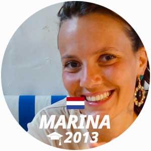 Marina de Massiac cuisine diploma 2013