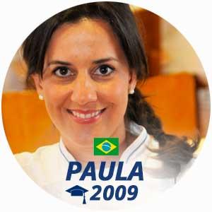 Paula Passos diplome cuisine 2009