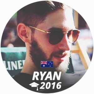 Ryan Milstein cuisine diploma 2016