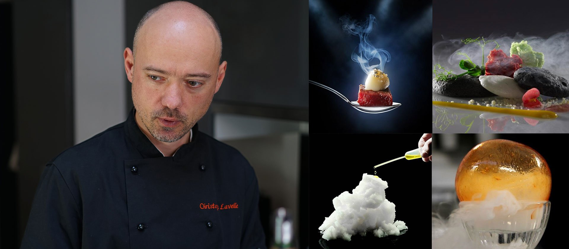 Le Cordon Bleu Sydney A demonstration of Molecular Gastronomy by Christophe Lavelle