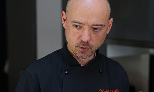 A demonstration of Molecular Gastronomy by Christophe Lavelle at Le Cordon Bleu Sydney