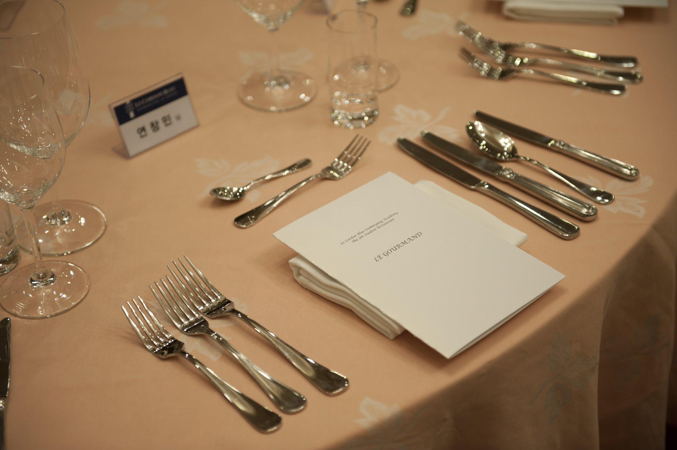 Le Cordon Bleu-Sookmyung Academy 2016 Fall Student Popup Restaurant