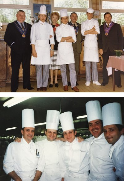 Chefs Eric Briffard Joël Robuchon cuisine competition