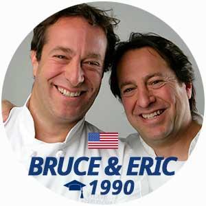 Diplômés Bruce et Eric Bromberg
