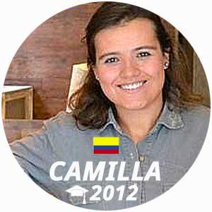 Diplômée Camilla Baquero Rojas