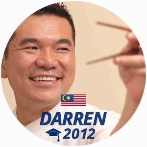 Diplômé Darren Chin