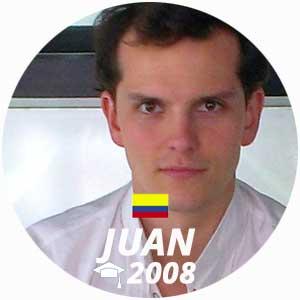 Juan Arbelaez diplome cuisine 2008