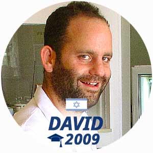 David Laor diplome pâtisserie 2009