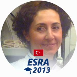 Esra Ozkutlu diplome pâtisserie 2013