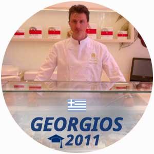 Georgios Papavgoulis pastry diploma 2011