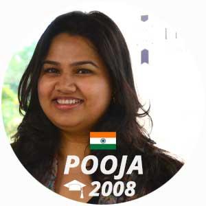Pooja Dhingra pastry diploma 2008