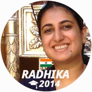 Radhika Puar diplome vin management 2014
