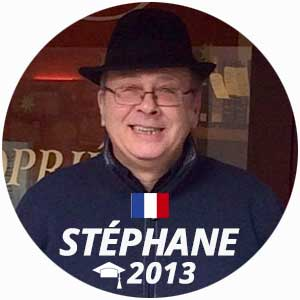 Stéphane Lecenes wine and management diploma graduate 2013