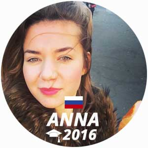 Anna Romanova diplôme de management en restauration 2016