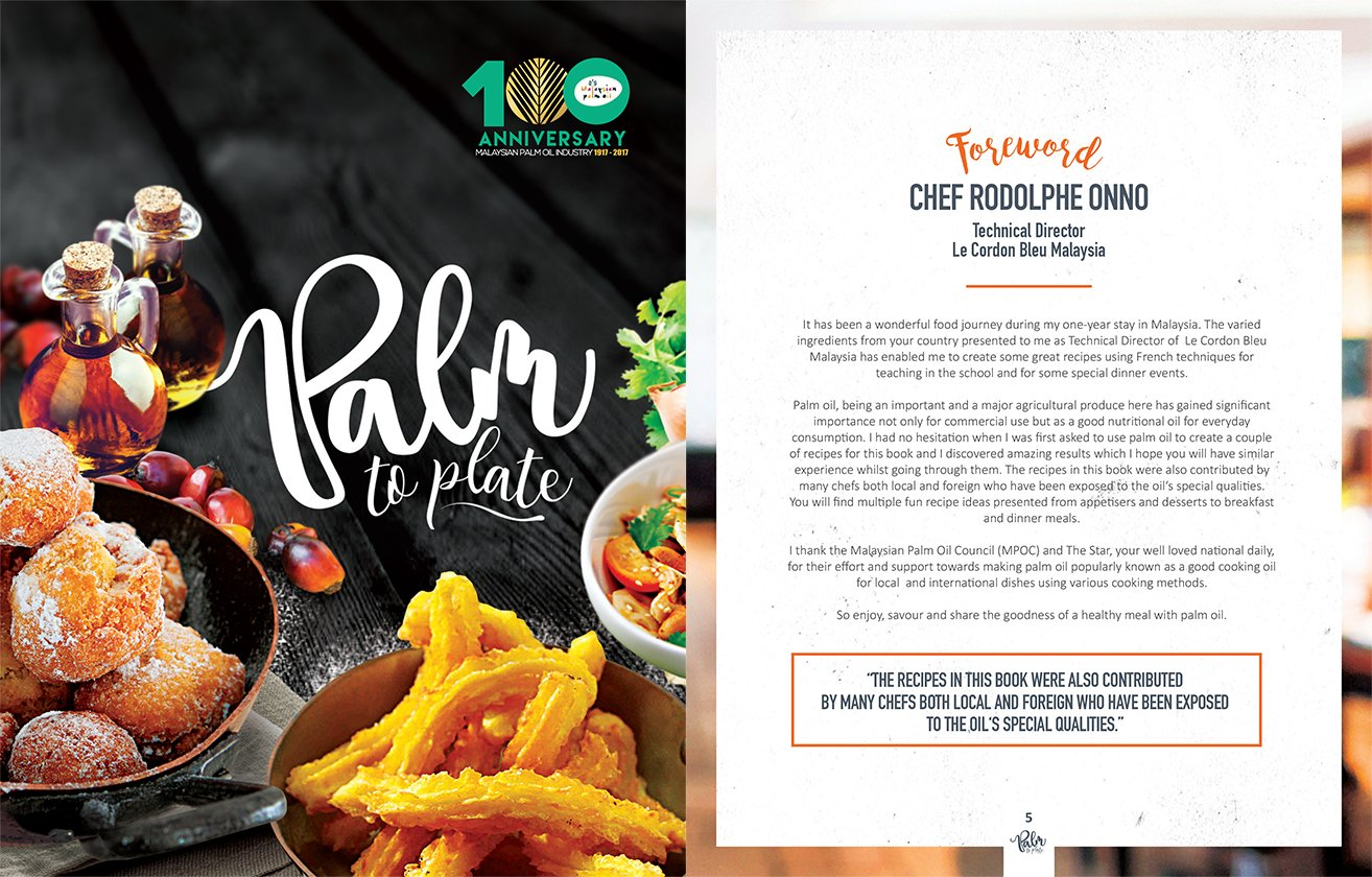 palm & plate book launch feat Chef Rodolphe Onno
